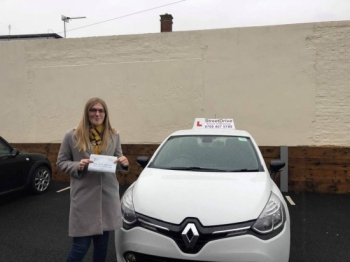 With 'Louise`s' help I went from barely having driven to passing my test in just over a week, I did an intensive driving course. <br /> <br /> 'Louise!' was really supportive and helped me tackle all the areas where I needed to improve - Passed Tuesday 17th December 2019.