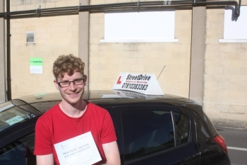 I passed my driving test with StreetDrive,my instructor