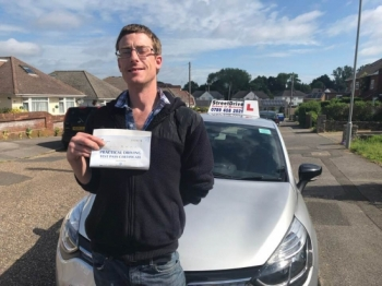 "Passed with ""ZERO"" Driving Faults .......,<br />