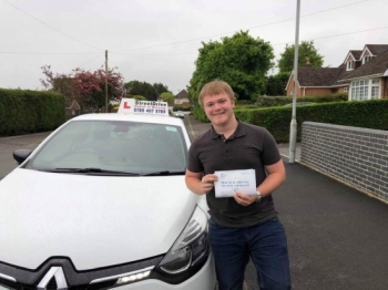 "Congratulations to ""Mike Pitcher"" who passed today at Poole DTC, just the ""5"" driving faults, very well done.<br />