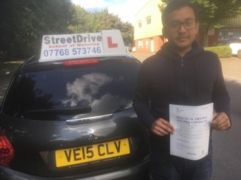 'Colin' was the best driving instructor I could have asked for! He made learning to drive a great experience and didn&acute;t let me feel defeated or disappointed and you can&acute;t ask for much more than that!<br />