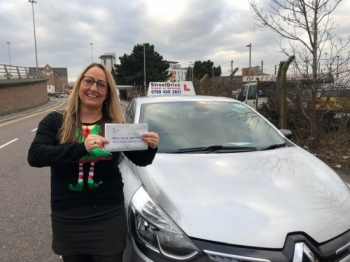 "Beep, beep, congratulations to 'Nicky Marcelin-Horne' who passed her driving test this morning at Poole DTC, and at the ""1st attempt"", we are ALL delighted for you.<br />