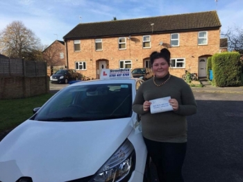 "Beep, beep, delighted for 'Nicole Rands' who passed her driving test today at Poole DTC, and at the ""1st Attempt�, fantastic news.<br />