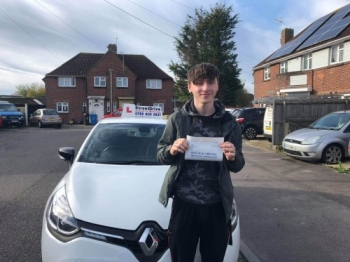 """Beep, beep, congratulations """"Reece Chan"""" who passed his driving test """"1st"""" attempt at Poole DTC, just the """"3"""" driving faults, very well done.<br /> <br /> Congratulations from your instructor """"Louise"""" and ALL of us at StreetDrive (SoM), drive carefully, keep safe 🚘 - Passed Wednesday 30th October 2019."""