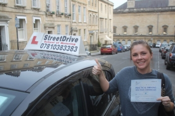 "Congratulations to 'Severina Iankova' who passed her driving test today at Chippenham DTC, and at the ""1st Attempt�, fantastic news.<br />