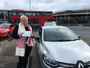 "Beep, beep, delighted for �Sian Baker' who passed the new ""SatNav� driving test today at Poole DTC, on her '1st Attempt', fantastic news.<br />