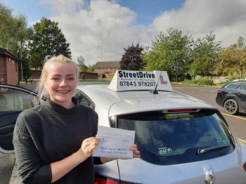 Roger from StreetDrive was honestly the best driving instructor I could have! After having the not best start to driving he put me at ease and kept me calm. <br /> <br /> He is honestly an asset to your company and I couldn't thank him enough, would very highly recommend - Passed Thursday 3rd October 2019