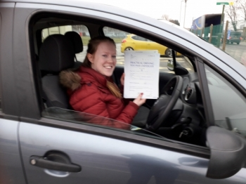 Couldn´t of wished for a better instructor. Sue is so patient, Friendly, fun and very clear when explaining things. I can´t thank Sue enough for teaching me how to learn to drive as now i feel like such a confident and safe driver....