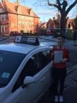 Paulina passed with Tim Burwell Driving School