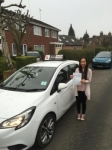 Christy passed with Tim Burwell Driving School