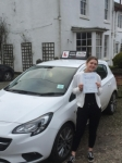 Charlotte passed with Tim Burwell Driving School