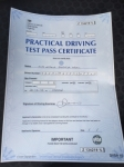 Natalie passed with Tim Burwell Driving School