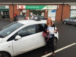 Agata passed with Tim Burwell Driving School