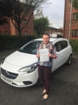 Tina passed with Tim Burwell Driving School