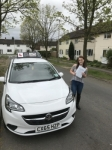 Jess passed with Tim Burwell Driving School