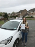 Ciara passed with Tim Burwell Driving School