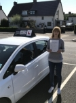 Emma passed with Tim Burwell Driving School