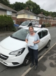 Donna passed with Tim Burwell Driving School