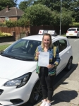 Linzi passed with Tim Burwell Driving School