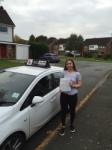 Lizzie passed with Tim Burwell Driving School