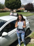 Mel passed with Tim Burwell Driving School