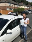 Sue passed with Tim Burwell Driving School