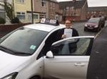 Dominika passed with Tim Burwell Driving School