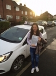 Ayse passed with Tim Burwell Driving School