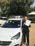 Leah passed with Tim Burwell Driving School