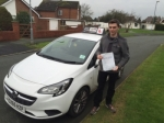 Steve passed with Tim Burwell Driving School