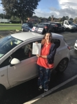 Christine passed with Tim Burwell Driving School