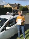 Marta passed with Tim Burwell Driving School