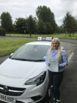Poppy passed with Tim Burwell Driving School