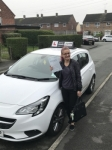 Estera passed with Tim Burwell Driving School