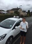 Katie passed with Tim Burwell Driving School