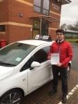 Gez passed with Tim Burwell Driving School
