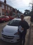 Ben passed with Tim Burwell Driving School