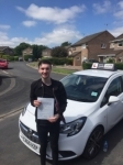 Tyler passed with Tim Burwell Driving School