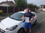 Ali passed with Tim Burwell Driving School