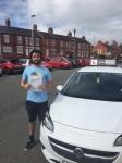 Matthew passed with Tim Burwell Driving School
