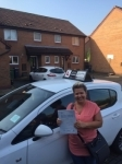 Becky passed with Tim Burwell Driving School