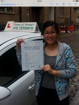 I was really nervous when I first started learning to driving but Guljar was really nice and I calmed down enough to really start enjoying my lesson. Guljar is great at giving advice and reassurance. I passed first time and was pleased but also so grateful for him for being patient with me. Thank you !! 
