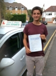 Charles from,London,E9 passed with Time To Pass Driving School