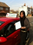 Chenye passed with Time To Pass Driving School