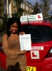 Miss Elizabeth from London, E8 passed with Time To Pass Driving School