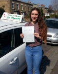 Miss Maya passed with Time To Pass Driving School