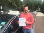 Mr  Jamie From SE16 passed with Time To Pass Driving School