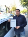 Mr Abdula From E11 passed with Time To Pass Driving School