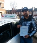 Mr Abid passed with Time To Pass Driving School