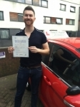 Mr Adam From SE14 passed with Time To Pass Driving School